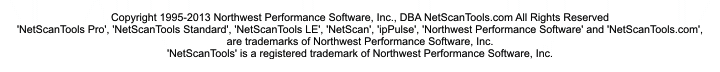 Copyright 1995-2012 Northwest Performance Software, Inc.