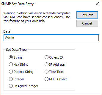 SNMP Tools - Core