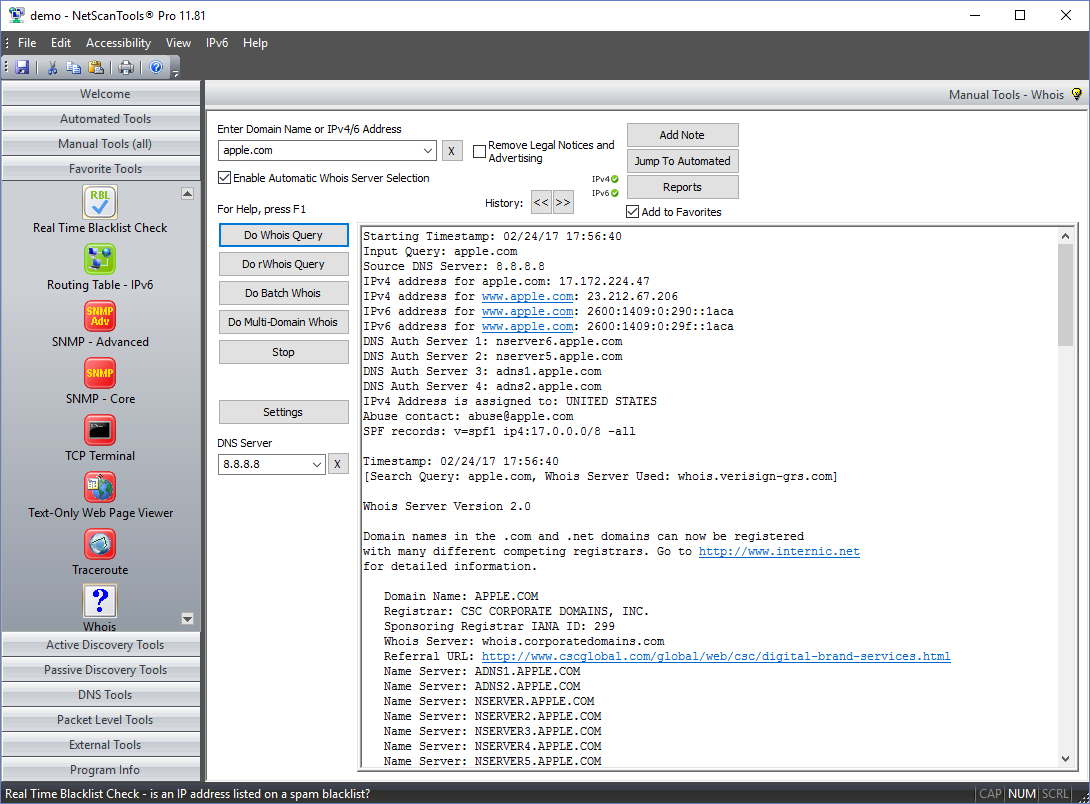 Whois Domain Screenshot